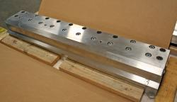 Used 49 Custom 2-Layer Cascading Stainless Steel Slot Die - Photo 1