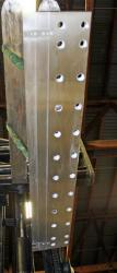 Used 49 Custom 2-Layer Cascading Stainless Steel Slot Die - Photo 2