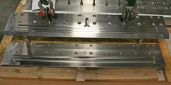 Used 49 Custom 2-Layer Cascading Stainless Steel Slot Die - Photo 7