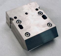 Used 3 Custom Stainless Steel Single Lane Striping Slot Die-Dual Cavity - Photo 1