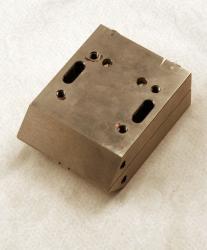 Used 3 Custom 2-Lane Stainless Steel Striping Slot Die - Photo 1