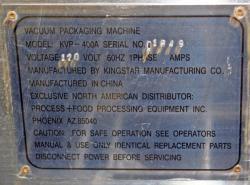 Used Process + Mini-Max KVP-400A Vacuum Packaging Machine - Photo 5