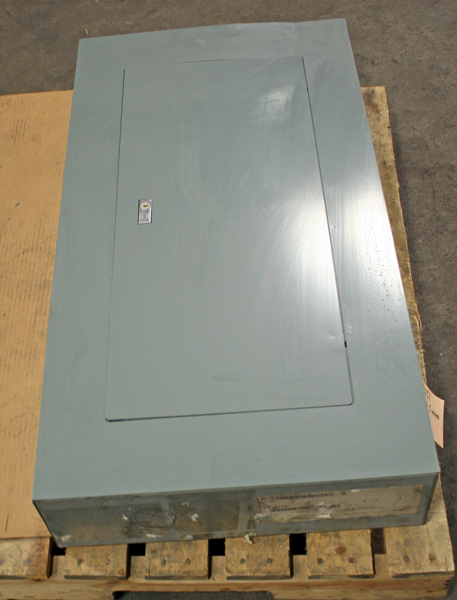 used square d nf 1670ct0701 250a circuit breaker panel board