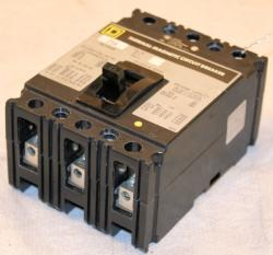 Used Square D FAL34025 Thermal-Magnetic Circuit Breaker- Photo 1