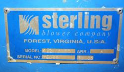 Used Sterling Blower 628-05FD 5HP Direct Drive Fluff Blower - Photo 3