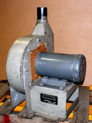 Used Sterling Blower 5003FD 3HP Direct Drive Fluff Blower - Photo 1