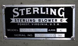 Used Sterling Blower 5003FD 3HP Direct Drive Fluff Blower - Photo 4
