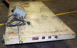 Used Southworth Electric Lift Table - 2000 lb. Capacity - 96 x 48 - Photo 2