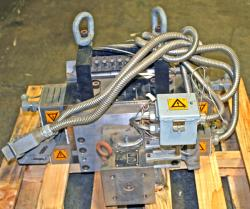 Used 12 Cloeren Epoch IV Triple Manifold Extrusion Die - Photo 3