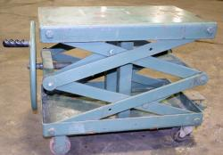 Used Air Technical Industries SLTM-1000 Lift Table - 1,000 lbs. - Photo 1