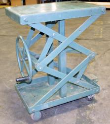 Used Air Technical Industries SLTM-1000 Lift Table - 1,000 lbs. - Photo 2