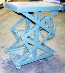 Used Air Technical Industries SLTM-1000 Lift Table - 1,000 lbs. - Photo 3