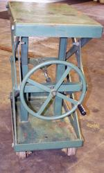 Used Air Technical Industries SLTM-1000 Lift Table - 1,000 lbs. - Photo 4