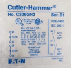 Cutler-Hammer AN16DN0AB Size 1 Starter - Photo 4