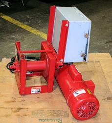 Used Thern 4WS1M6-950 Worm/Spur Gear Power Winch - Photo 1