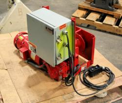 Used Thern 4WS1M6-950 Worm/Spur Gear Power Winch - Photo 2