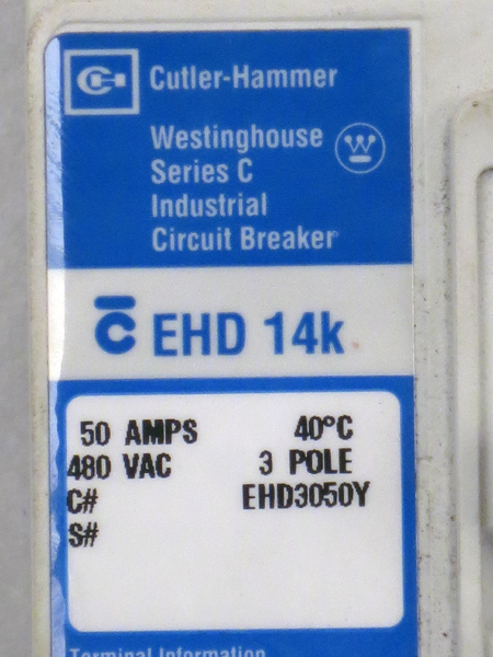 cutler hammer 50 amp breaker how to connect